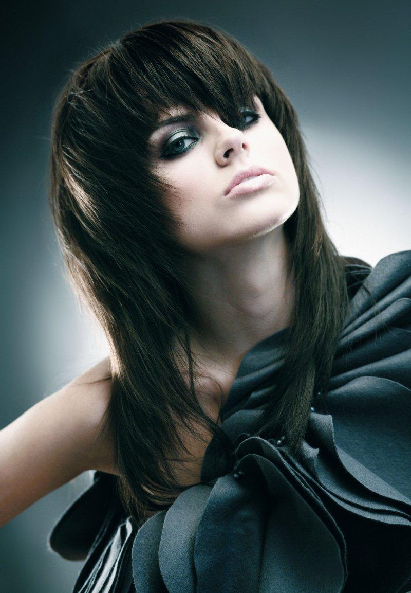 модная стижка с длинными волосами 2017