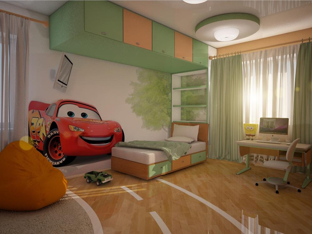 Детская комната для мальчика дизайн фото в 10
