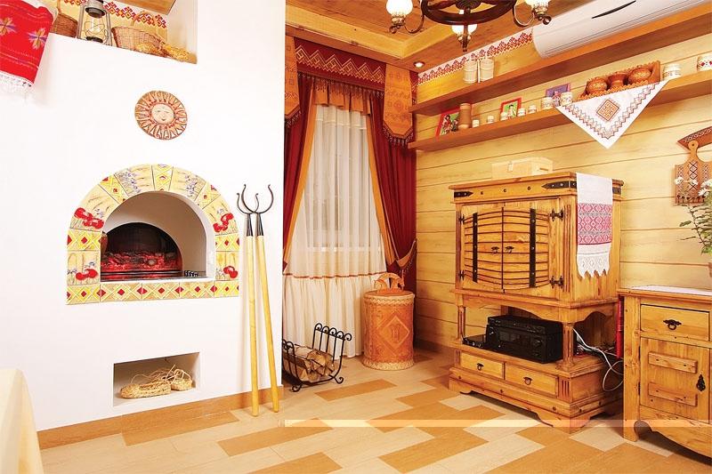 Декор славянский дом