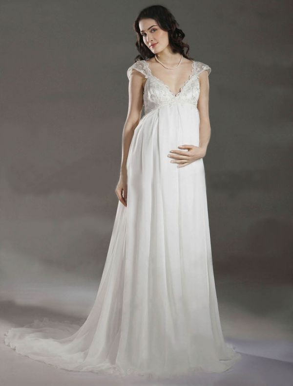 Свадебные костюмы для беременных невест