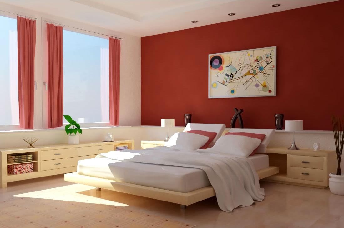 светлая спальня - дизайн и фото