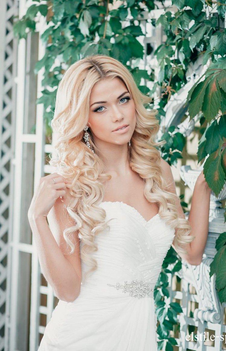 Красивые свадебные прически в