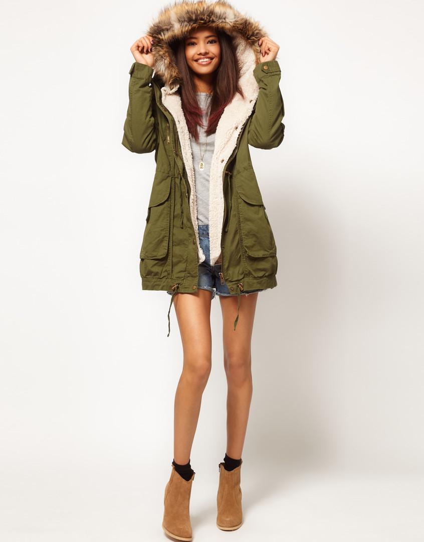 Зимняя Женская Одежда Куртку