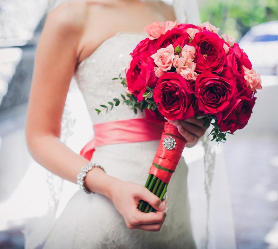свадьба в красном стиле