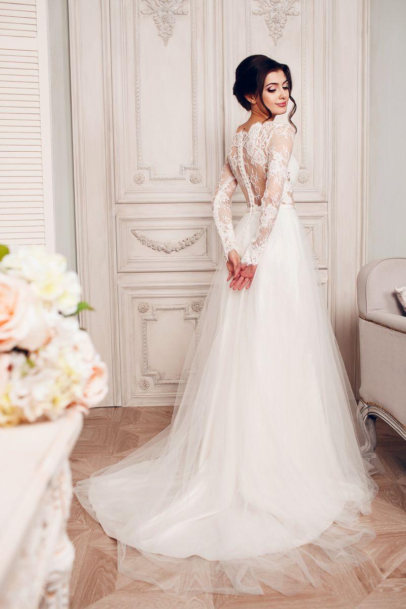 платья а силуэта фото свадебные